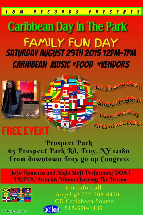 flyer for caribbean day